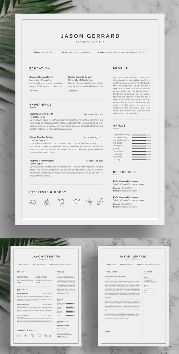 50 Best Resume Templates Of 2020 - 43