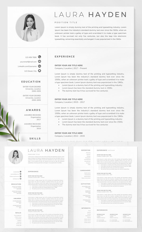 50 Best Resume Templates Of 2020 - 48