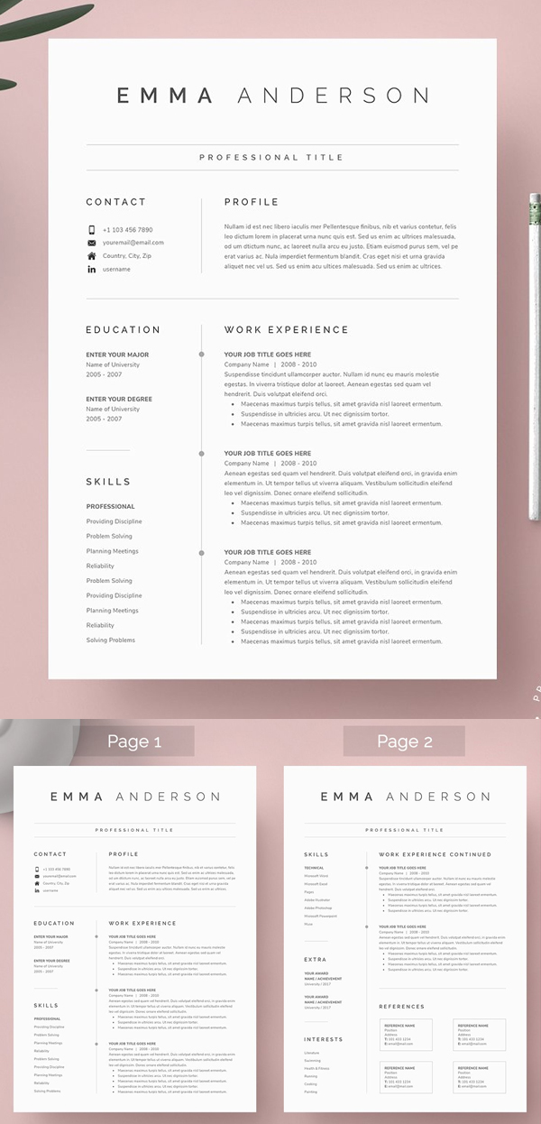 50 Best Resume Templates Of 2020 - 5
