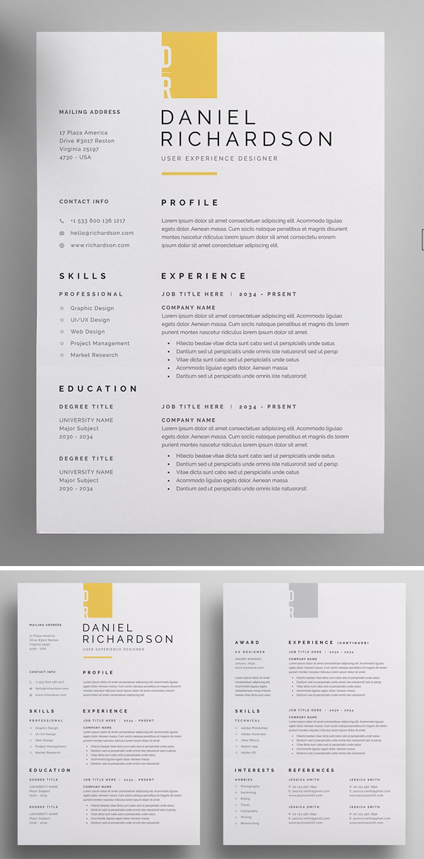 50 Best Resume Templates Of 2020 - 7
