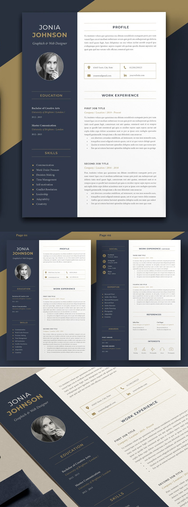 50 Best Resume Templates Of 2020 - 8