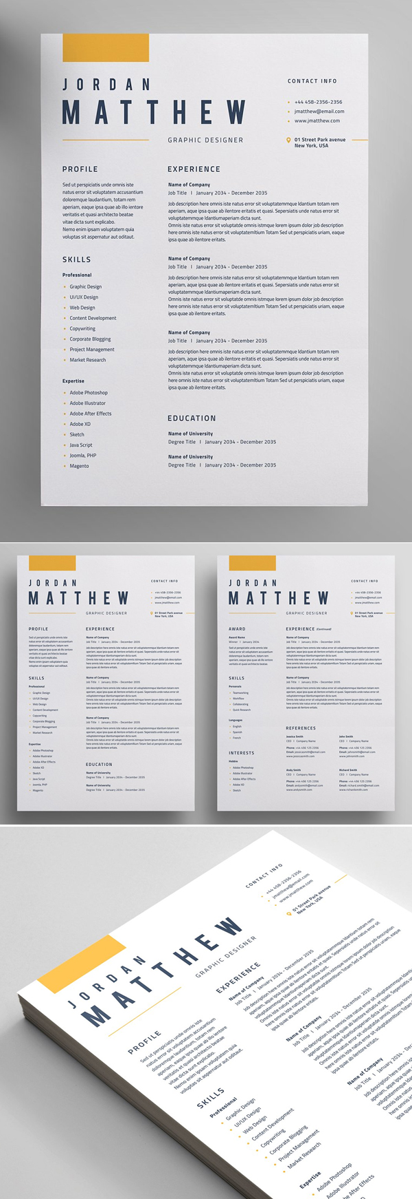 50 Best Resume Templates Of 2020 - 9