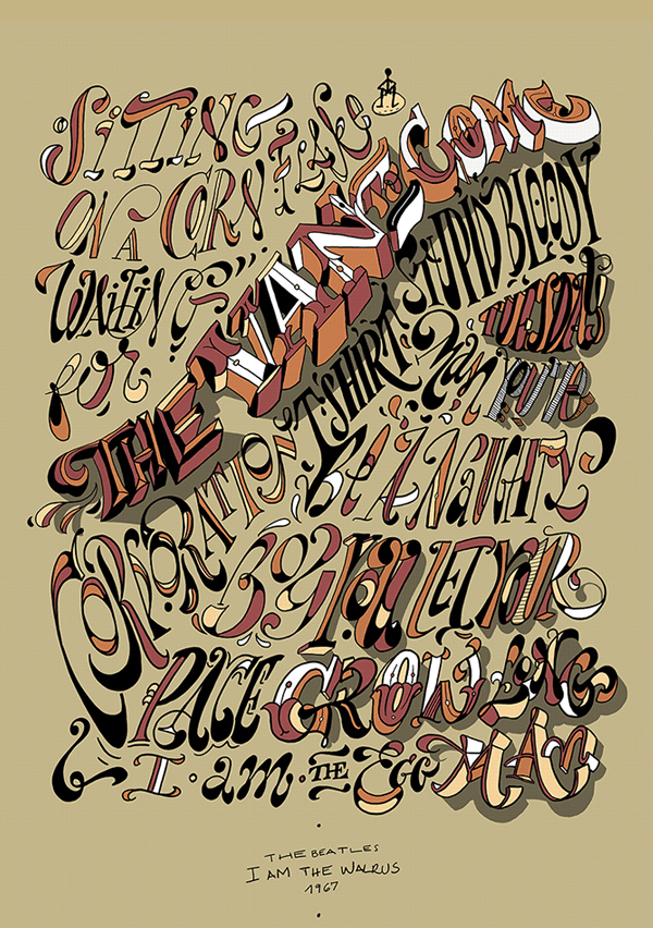 Remarkable Calligraphy and Lettering Designs for Inspiration - 28