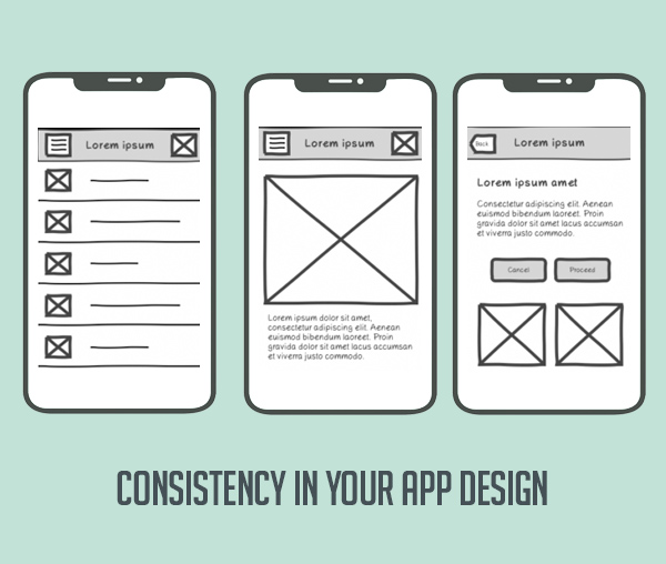 Keep Consistency in Your App Design