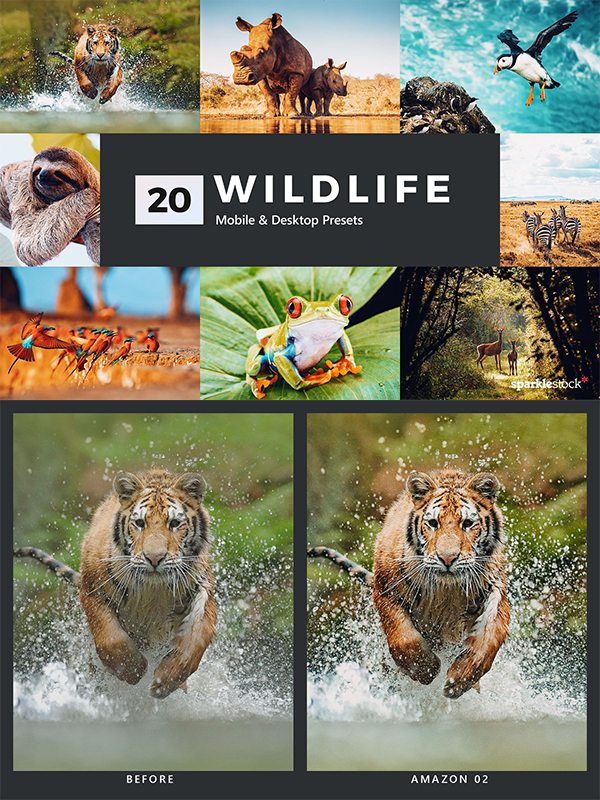 Wildlife Lightroom Presets