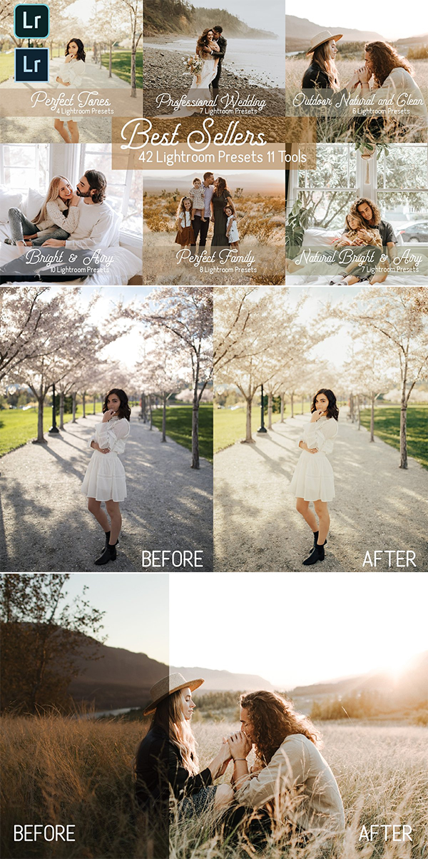 Best Sellers Lightroom Preset