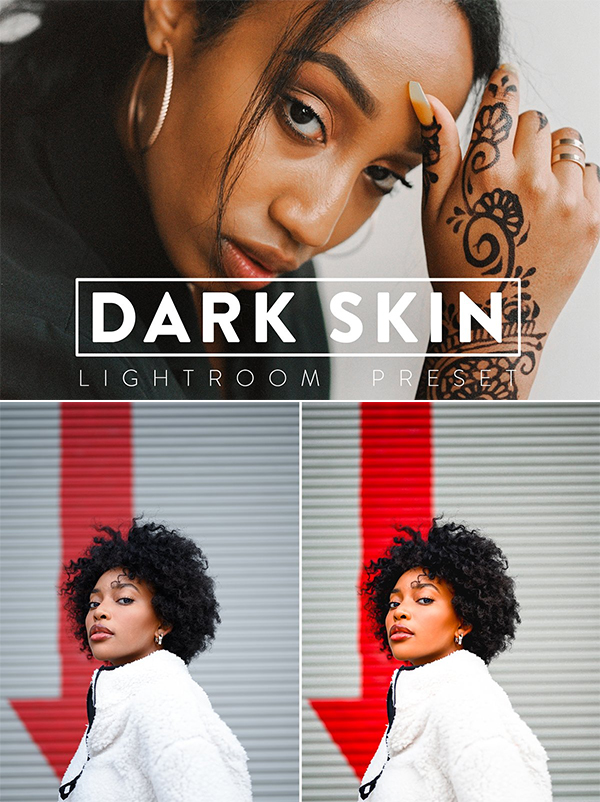 Dark Skin Lightroom Preset