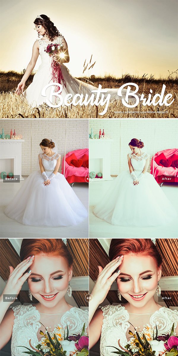 Beauty Bride Lightroom Presets Pack