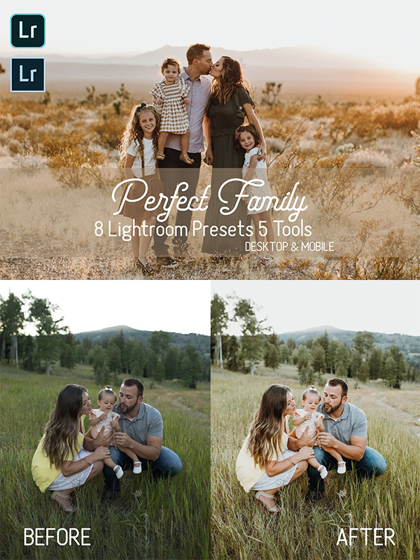 Perfect Family Lightroom Presets