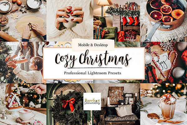 Cozy Christmas Lightroom Presets