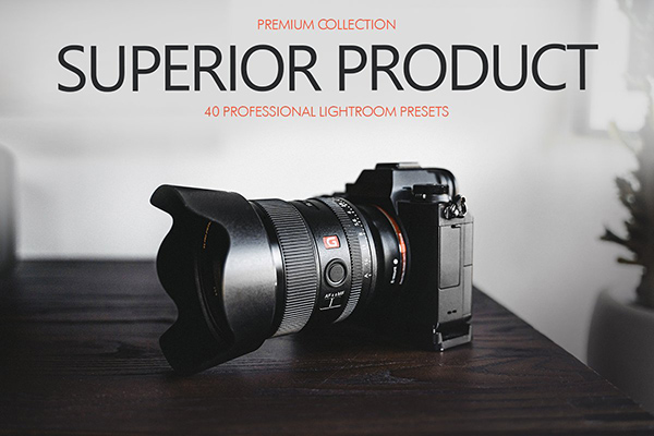 Superior Product Presets Lightroom