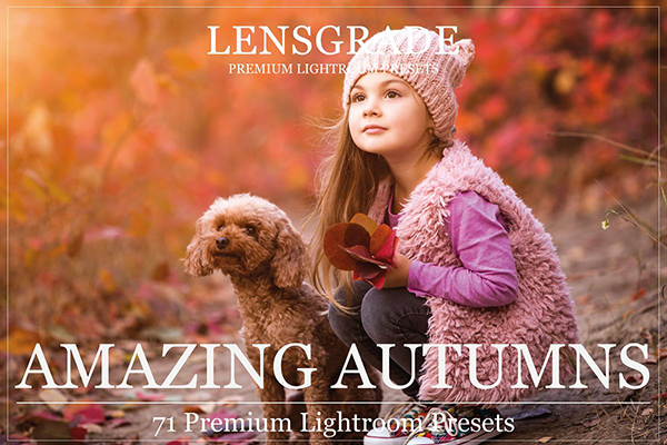 71 Autumn Lightroom Presets