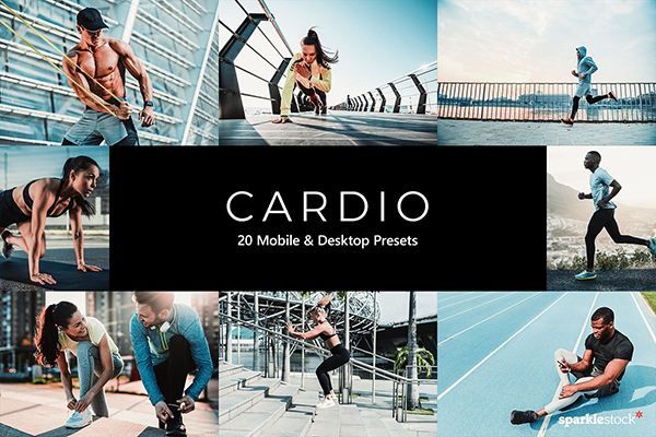 20 Cardio Lightroom Presets & LUTs