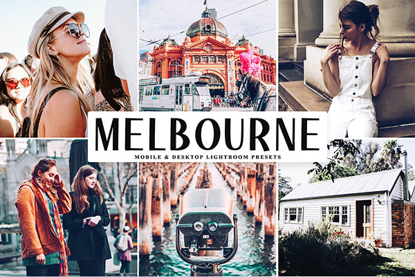Melbourne Lightroom Presets Pack