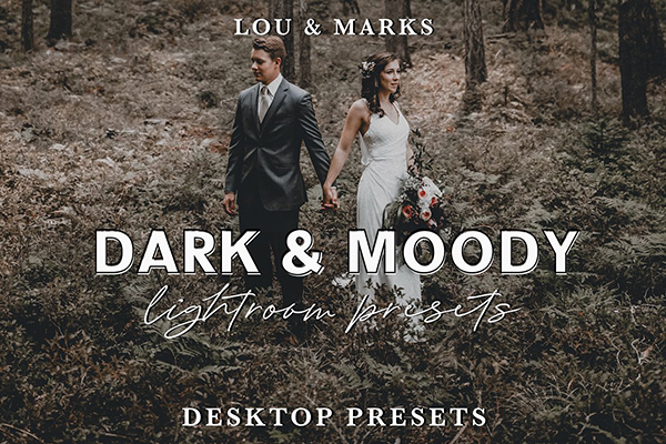 Dark & Moody Lightroom Presets