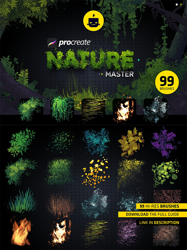 Nature Master for Procreate