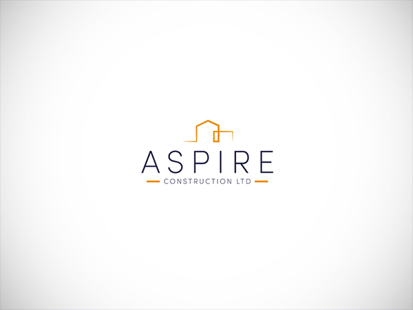 Construction logo by Blue Whale Media