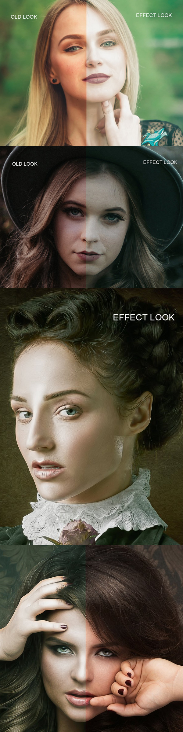 Pro Glamour Girl Effect Photoshop Action