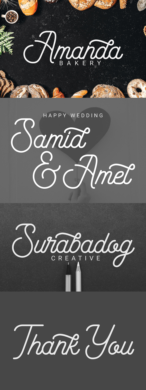 Saylenday Font Letters