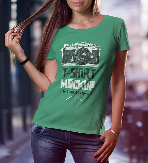 Elegant Best T-Shirt Mock-Up Set