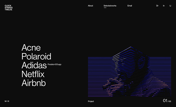Web Design: 34 Modern Website UI / UX Design Examples - 24