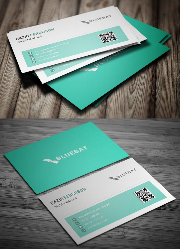 Perfet Creative Business Card Design