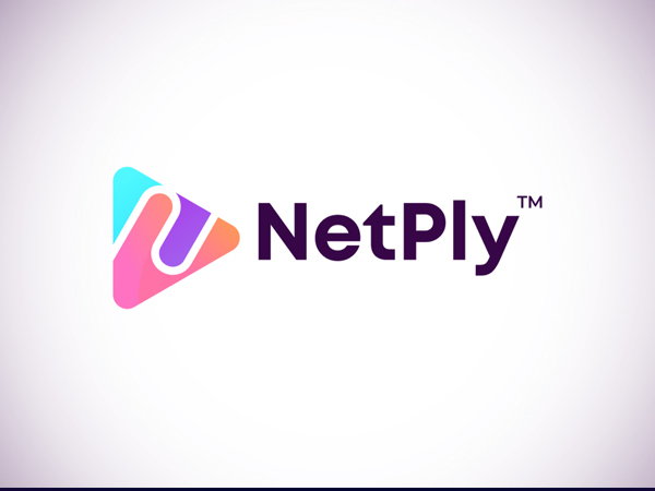 N letter logo for NetPly by GFXhouse